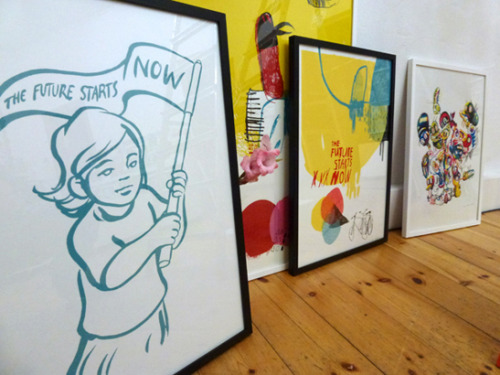 various supalife kiosk edition prints out now - go and have a look at www.supalife.de