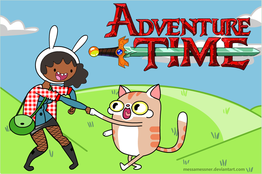 I'm loving all these variations to Adventure Time :)