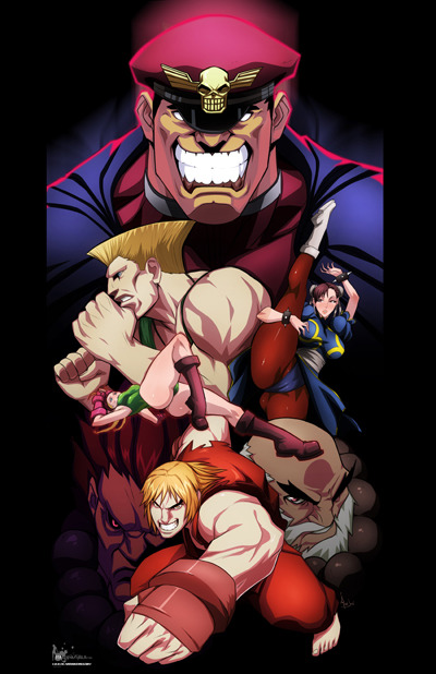 keyofdreams:  Street Fighter by *cyberunique