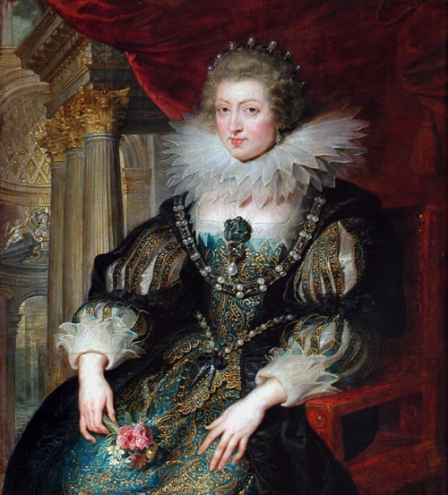 Maria Anna of Spain, Queen of France by Peter Paul Rubens, 1620's