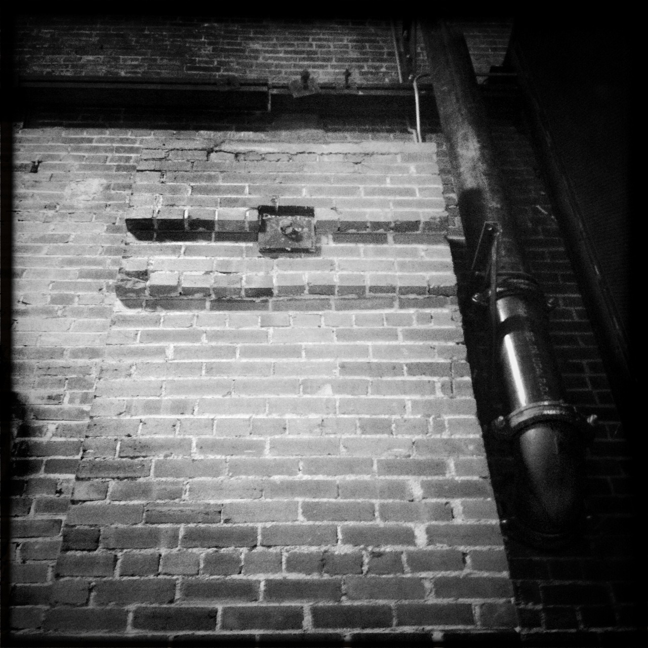 Forney Taken with Hipstamatic, John S Lens, BlacKeys SuperGrain Film, No Flash.