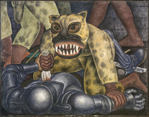 Indian Warrior, Diego Rivera 1931