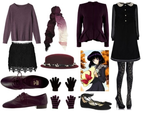 Sailor Saturn/Tomoe Hotaru Fall style inspiration.  + more sets