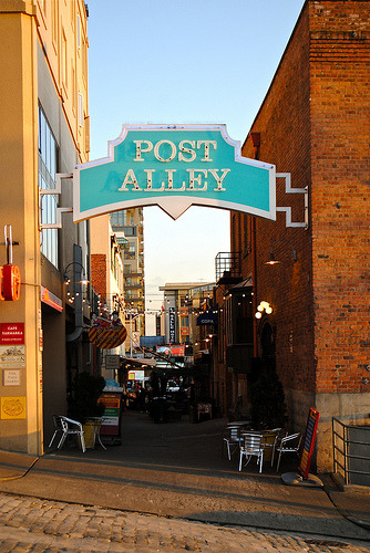 Post Alley - Seattle, Washington