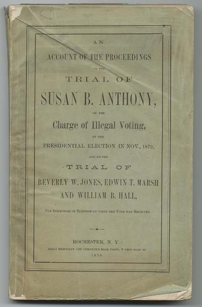 wisconsinforward:  On this date in 1872, Susan B. Anthony was fined $100 for attempting to vote.  She never paid the fine.