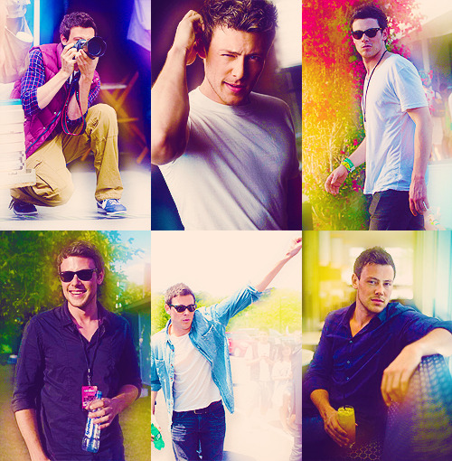 6 Favorite Pictures of Cory Monteith (asked by mayflo)