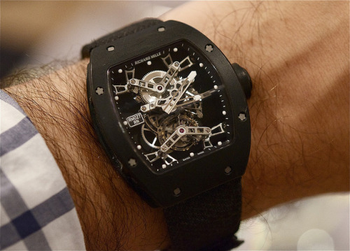 Rafa's Richard Mille on Flickr.