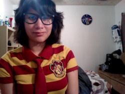 two costumes this year!only dressing up cause I have to for work.Harry Potter tomorrow and Waldo on Monday!