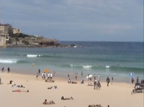 More of a swim day than a surf day at Bondi today! Pretty ugly conditions. Fresh southerlies ruffling tiny east leftovers in the 1ft  range. It really is a swim or paddle exercise at best today. All we can  do is hope the southerly freshens up enough to push up some swell for  the new week.  Visit Bondi Life on Facebook | The Bondi Life Blog | Twitter