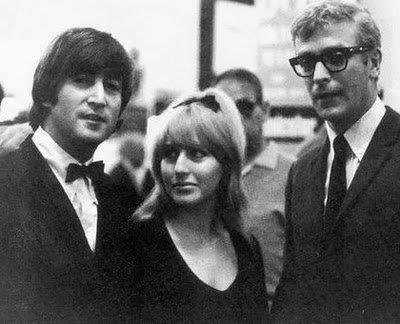 landofdoesnthavetobe:  John and Cyn with Michael Caine.
