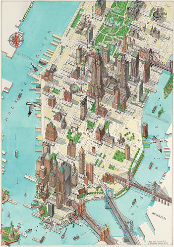 vizualize:  New York by Katherine Baxter