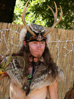 unnaturalmagic:  Faerieworlds 2007 - Cernunnos Faerie by phoenixspringwater on Flickr.