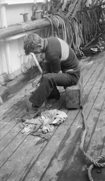 swabbing the deck