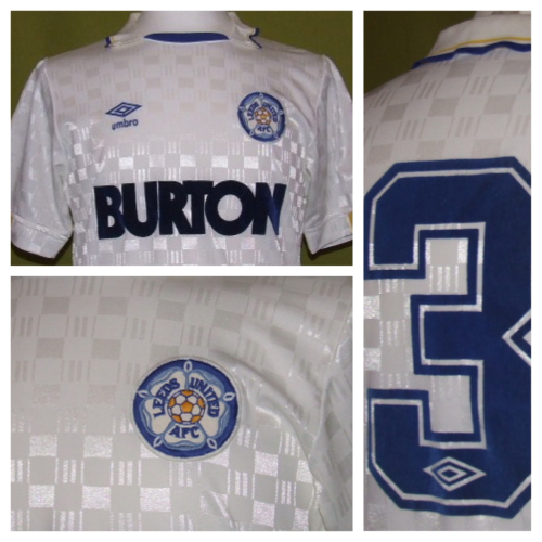 Leeds United 87-88 checkered sick kit by @Umbro  -DJ