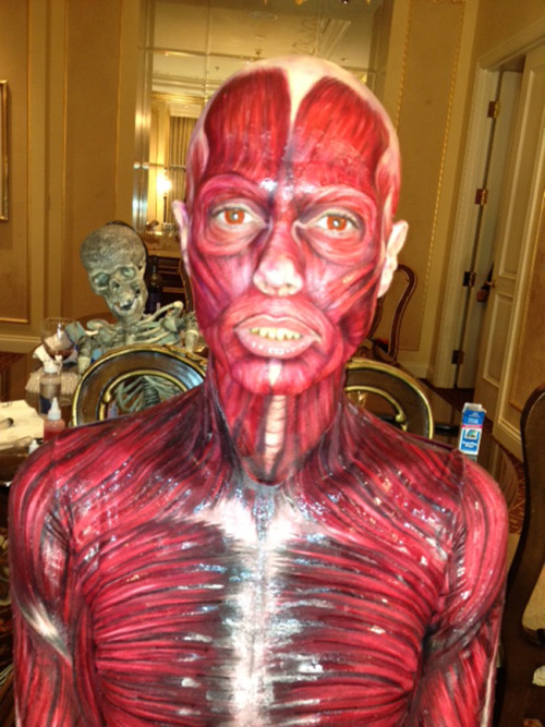 OK, Heidi Klum's Halloween costume wins, as usual.