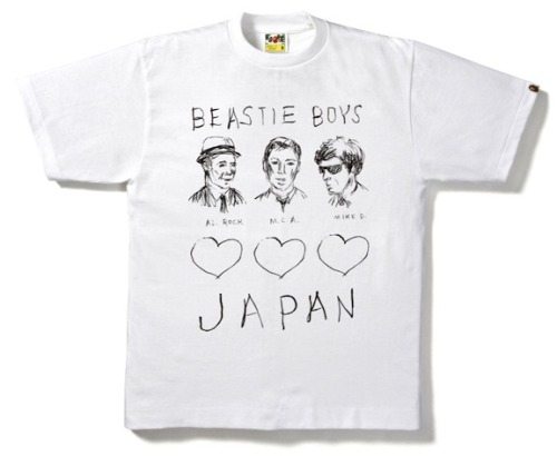 skll:  A Bathing Ape x Beastie Boys 'Charity Tee'