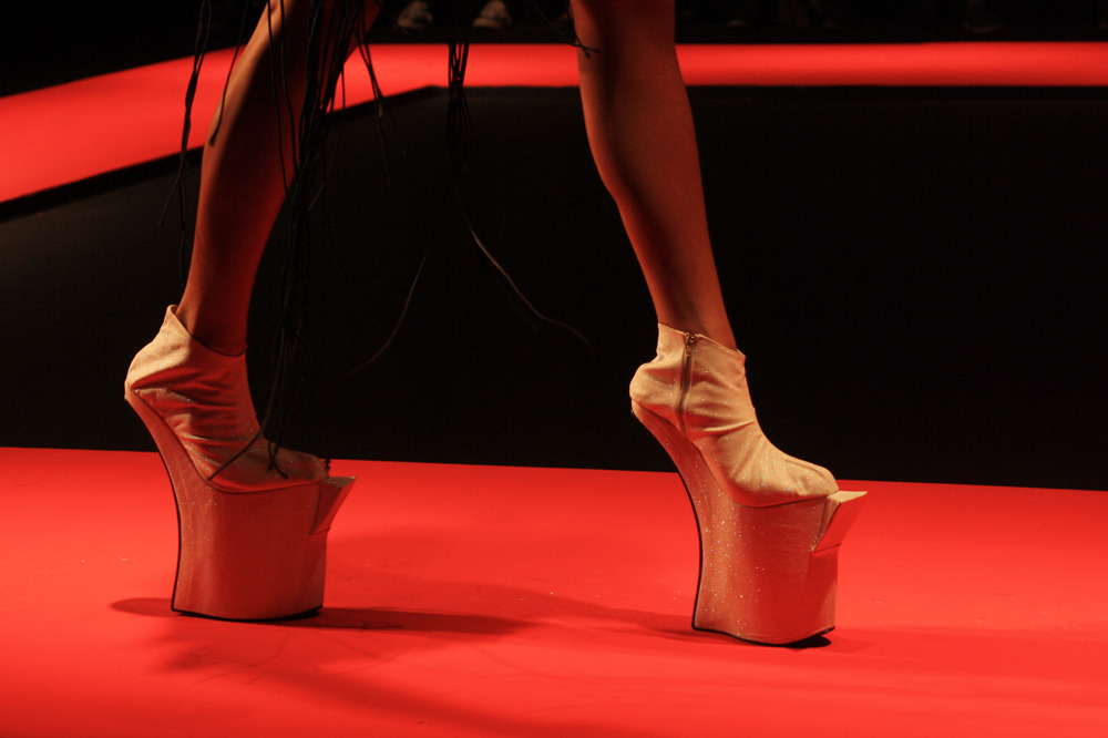 On Higher Ground Enrico Carado Spring/Summer 2012. Shoes by Joco Comendador.