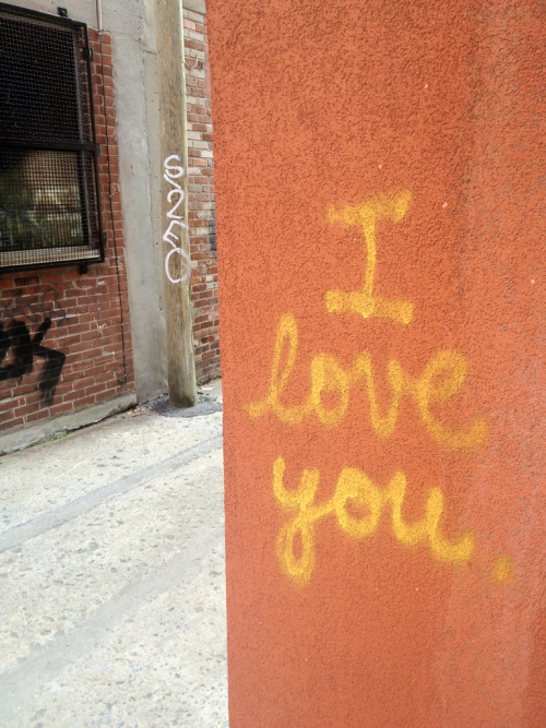 I love you, too, Montreal. October 30, 2011.