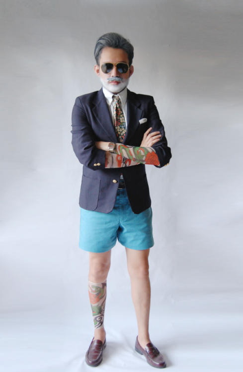 A Nick Wooster Halloween Costume Exists You might recognize him from all our Tommy Ton shoots.