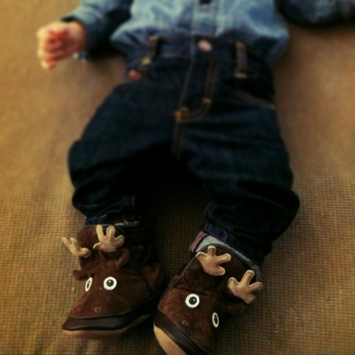 #hipsterbaby #chambray #rawdenim (Taken with instagram)