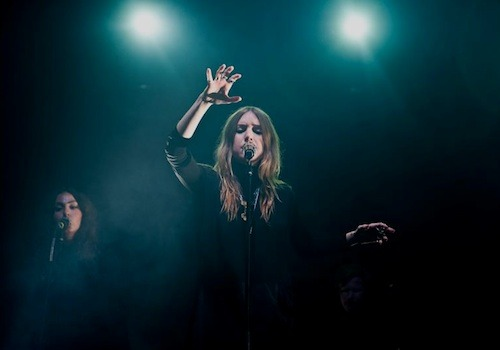 pitchfork:  Lykke Li at Pitchfork Music Festival Paris by Tom Spray.