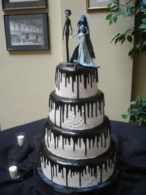 This is what i want my wedding cake to look like :D