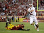 Stanford & USC Have Triple Overtime Instant Classic The heisman battle between candidates Andrew Luck and Matt Barkley did not disappoint.The two quarterbacks put on amazing performances that lasted through three overtimes. Read More…  #JoinTheCipher !