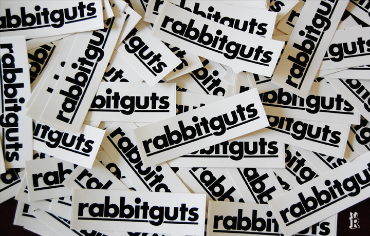 Rabbitguts Sticker Pack #1 Buy stickers here