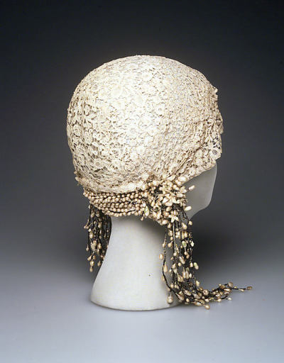Wedding Cloche, Met, 1932