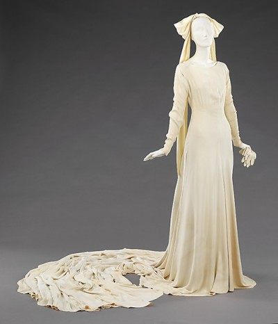 Elizabeth Hawes Wedding Ensemble, Met Museum, 1934