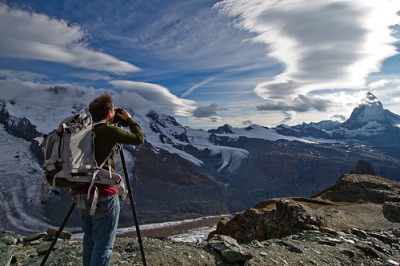 Shooting the Matterhorn (by Stuck in Customs)