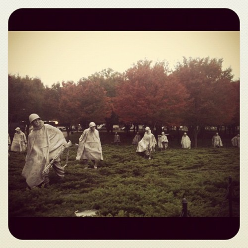 Korean War Memorial  (Taken with instagram)