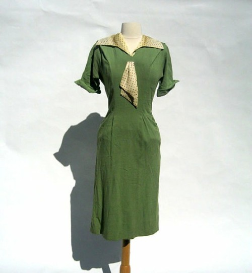 Day dress, 1930's (late?)