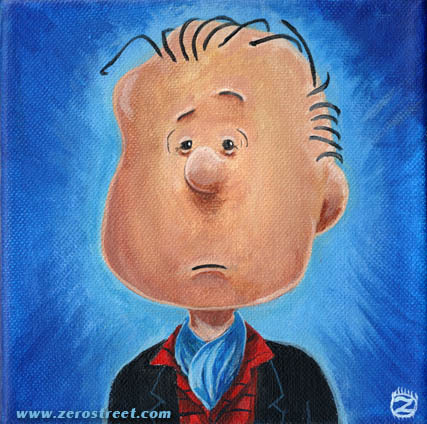 LINUS VAN PELT,ESQUIRE Acrylic on Canvas