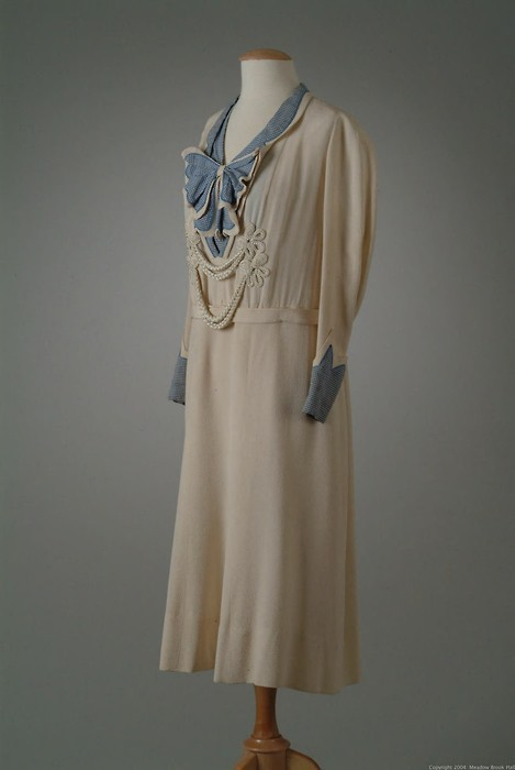 Day dress, early 1930's