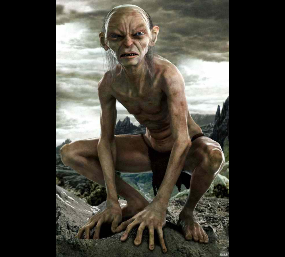Portrait Art: Gollum