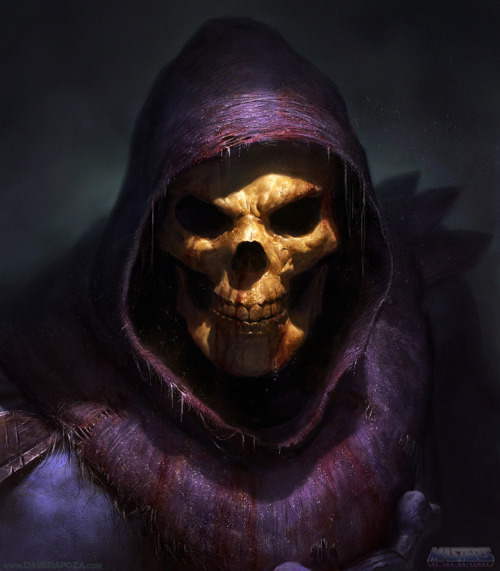 The dreaded Masters of the Universe super villain Skeletor looks better than ever in Dave Rapoza's new finished fan art illustration. Related Rampages: TMNT Prints | Dark Souls (More) Skeletor by Dave Rapoza (CGHUB) (deviantART) (Twitter)