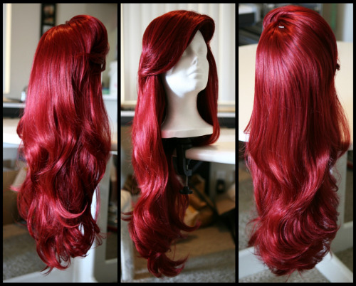 iamthelittlemermaid:  fuckyeadisneycosplay:  Little Mermaid Inspired Wig by ~TheRealLittleMermaid  WANT IT  OH MY GOD