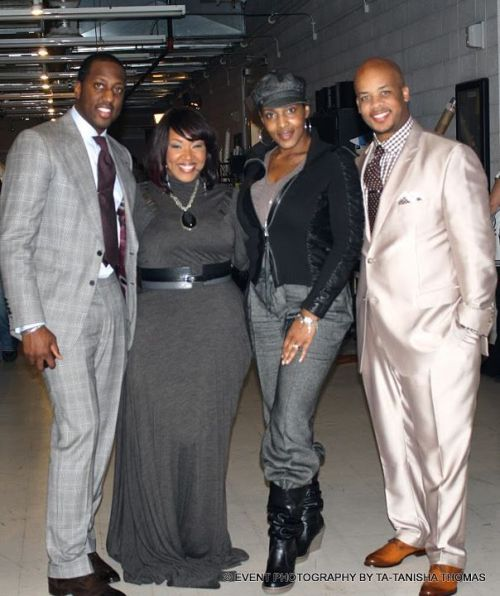 Last Night's 2012 Stellar Award Nominations… …were held in Nashville, Tennessee at NorthStar Studios. It was a really good show, it aired live on GMC! Did you watch? Pictured left to right, Isaac Carree, Y'anna Crawley, Me and James Fortune.  Great night, more here.