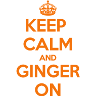 Umm awesome. Ginger Pride. Yess.
