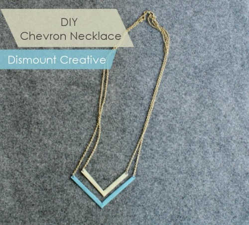 (via DIY Chevron Necklace)