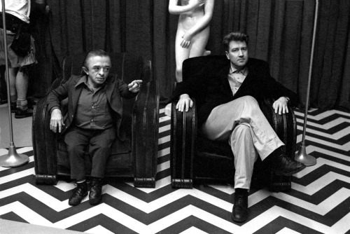 "le-fred:  Richard Beymer's photographs from the set of ""Twin Peaks"""