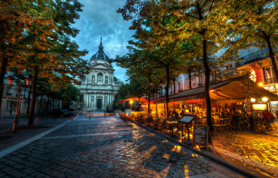 The Sorbonne by Stuck in Customs on Flickr.