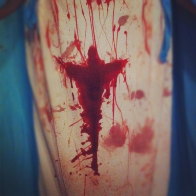 Rise… #rite #halloween #igers #ignation #igeire #blood #gore #photooftheday #instagood #instagram #mary #wicked #muertas #dead #symbol (Taken with instagram)