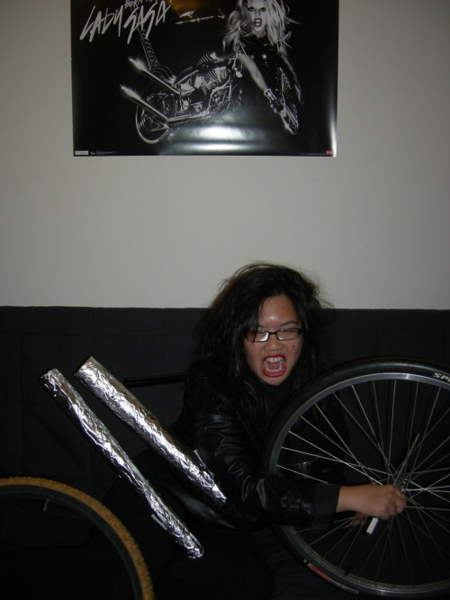 Lady Gaga and I were both born this way. As motorcycles.