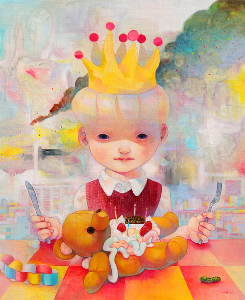 "magnolius:  ""Birthday party, Playback Rite"" by Hikari Shimoda"
