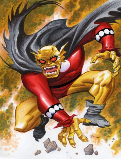 Etrigan the Demon by Bruce Timm.