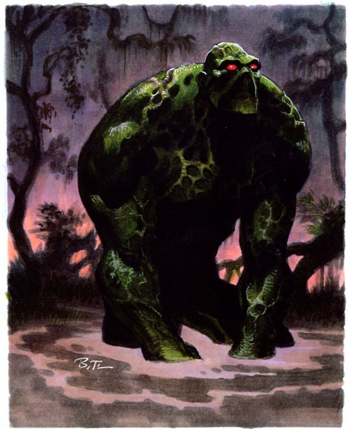 Swamp Thing by Bruce Timm.