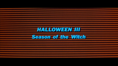 Halloween Hype 2011, Part XIV  Halloween III: Season of the Witch  [1982 / Tommy Lee Wallace / *****] Catching up on my weekend viewings. HIII is a perennial favourite. Ended up watching a slightly censored version on AMC (part of their annual Fright Fest airings) even though I have the DVD (the trip upstairs to get it was just too taxing apparently). My 5 star rating is purely based on how fun I find this film.