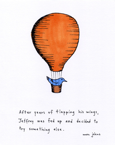 Jeffrey was fed up by Marc Johns on Flickr.